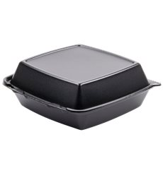 Boîte FOAM Moyen 3C. Couvercle Détachable Noir 210x200mm (200 Utes)