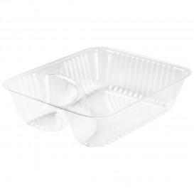 """Plastic deli Container transparant 2C 355ml """"Nachos"""" (500 stuks)"""