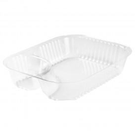 """Plastic deli Container transparant 2C 565ml """"Nachos"""" (125 stuks)"""