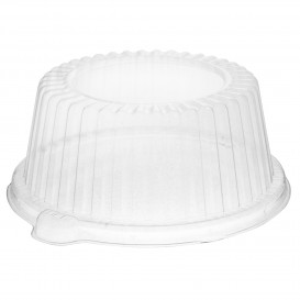 Plastic koepel Deksel PS Kristal Ø15x6,4cm (500 stuks)