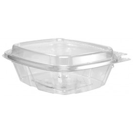 Plastic deli Container PET onverbrekelijk hoge koepel Deksel 240ml (200 stuks)