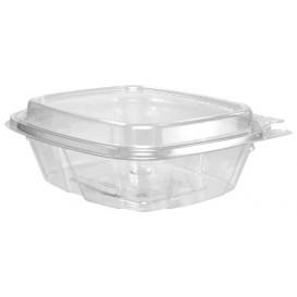 Plastic deli Container PET onverbrekelijk hoge koepel Deksel 240ml (100 stuks)