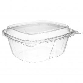 Plastic deli Container PET onverbrekelijk hoge koepel Deksel 355ml (200 stuks)