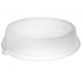 Couvercle Plastique Transp. pour Assiette Ø260mm (125 Unités)
