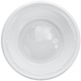 Bol en Plastique PS Blanc Blanc 180ml Ø11,5cm (125 Utés)