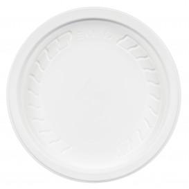 """Plastic Deksel PP """"Deli"""" wit Ø12cm (50 eenheden)"""