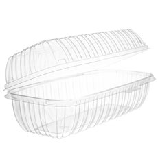 """Boîte Couvercle Charnière OPS """"Clear Seal"""" Pour Sandwich 292ml (200 Utés)"""