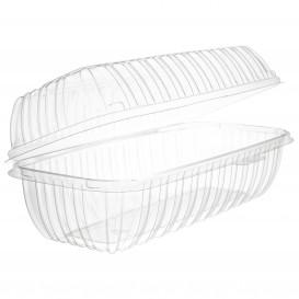 "Plastic scharnierende Deli-Container OPS ""transparant Seal"" 290ml (100 stuks)"