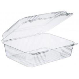 "Plastic scharnierende Deli-Container OPS ""StaenLock"" transparant 2760ml (100 stuks)"