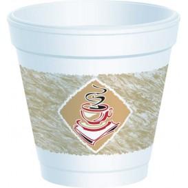 """Gobelet isotherme de FOAM """"Café"""" 4Oz/118 ml (50 Unités)"""