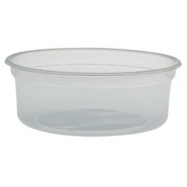 "Plastic deli Container PP ""Deli"" 8Oz/266ml transparant Ø12cm (25 stuks)"