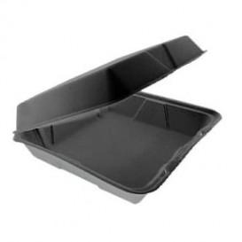 Boîte en FOAM MenuBox Détachable Noir 240x235mm (200 Utes)