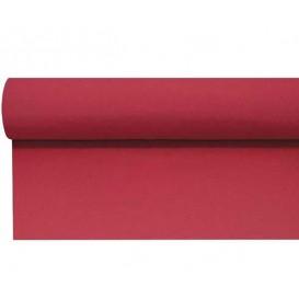 Airlaid tafelloper rood 0,4x48m P1,2m (6 stuks)