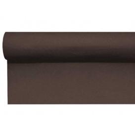 Airlaid tafelloper bruin 0,4x48m P1,2m (1 stuk)