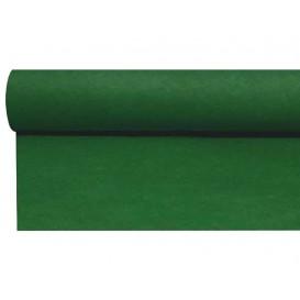 Airlaid tafelloper groen 0,4x48m P1,2m (1 stuk)