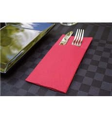 "Zakvouw airlaid servetten ""Kanguro"" rood 40x40cm (30 eenheden)"