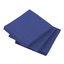 Serviette Cocktail Bleu 20x20cm (100 Unités)