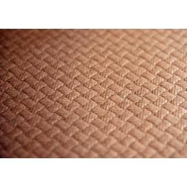 Papieren tafelkleed rol bruin 1x100m 40g (1 stuk)