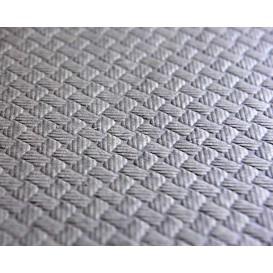 Papieren tafelkleed rol grijs 1x100m 40g (6 stuks)
