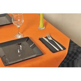 Nappe en PP Non-Tissé Orange 120x120cm (150 Utés)