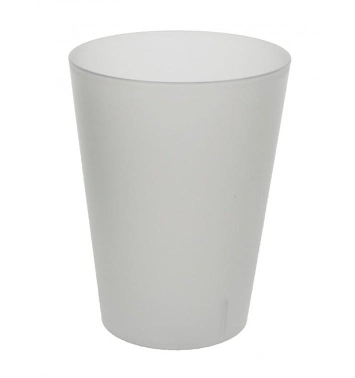 Gobelet Réutilisable PP Translucide 500ml (16 Utés)