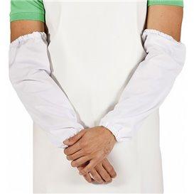 Wegwerp plastic Over omhulsel TST PP wit 25x44cm (50 stuks)