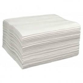 Wegwerp Spunlace handdoek voor douche wit 80x160cm 50g/m² (1 stuk)
