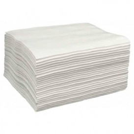 Wegwerp Spunlace handdoek voor douche wit 80x160cm 50g/m² (150 stuks)