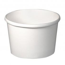 Pot en Carton Blanc 8Oz/273ml Ø9,1cm (25 Unités)