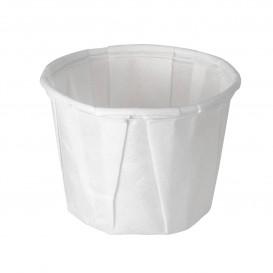 Geplooide papieren souffle beker 15ml (5000 stuks)