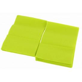 Serviette en Papier SNACK Pistache 17x17cm (160 Unités)