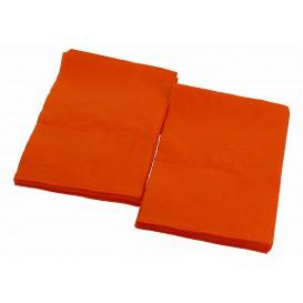 "Papieren servet ""Miniservis"" oranje 17x17cm (160 stuks)"