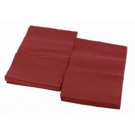 Serviette en Papier SNACK Bordeaux 17x17cm (4800 Unités)