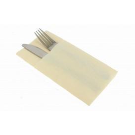 """Zakvouw airlaid servetten """"Kanguro"""" crème 40x40cm (480 stuks)"""
