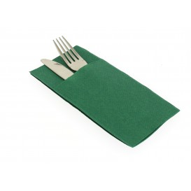 """Zakvouw airlaid servetten """"Kanguro"""" groen 40x40cm (30 stuks)"""