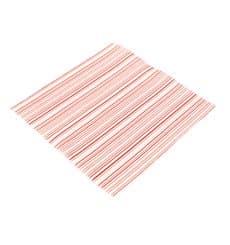 """Serviette Papier molletonnée """"Basic Rouge"""" 40x40 (50 Utés)"""