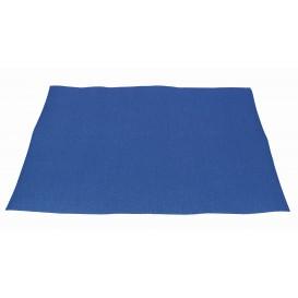 Papieren Placemats 30x40cm blauw 40g (1000 stuks)