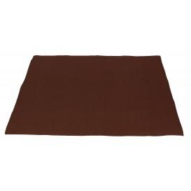 Papieren Placemats 30x40cm bruin 40g (1000 stuks)