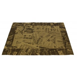"Papieren Placemats 30x40cm kraft ""Prensa"" 50g (500 stuks)"