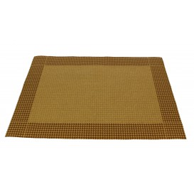 "Set de Table papier 30x40cm Kraft ""Patte d'Oie"" 50g (500 Utés)"