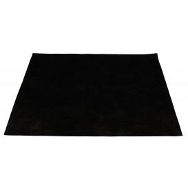 Set de Table en PP Non-Tissé Noir 30x40cm 55g (500 Utés)