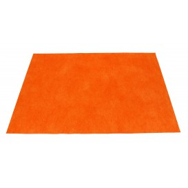 Set de Table en PP Non-Tissé Orange 30x40cm 50g (500 Utés)