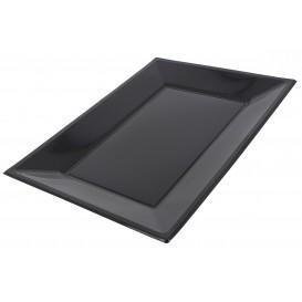 Plateau Plastique Noir rectang. 330x 225mm (750 Unités)