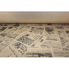 """Nappe papier en ROULEAU """"Presse"""" Kraft 1,2x100m 37g (1 Uté)"""