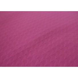 Voorgesneden papieren tafelkleed fuchsia 40g 1x1m (400 stuks)