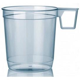 Tasse plastique Dur Transparent 250ml (40 Unités)