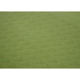 Voorgesneden papieren tafelkleed pistache 40g 1x1m (400 stuks)