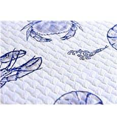 """Nappe en papier 1x1m """"Coquillage"""" 37g (400 Unités)"""