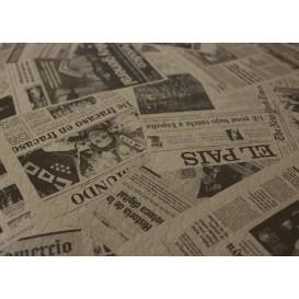 """Voorgesneden papieren tafelkleed 1x1m kraft """"Prensa"""" 37g 1x1m (400 eenheden)"""