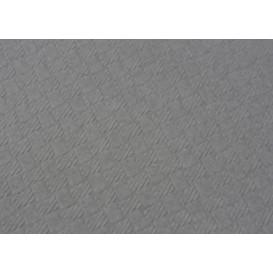 Voorgesneden papieren tafelkleed grijs 40g 1x1m (400 eenheden)